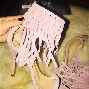 Giuseppe Zanotti Shoes - Giuseppe Zanotti Fringe Heels